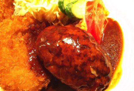 ぶどう亭@梅田 行列のできる洋食店で感動した肉汁溢れるハンバーグ