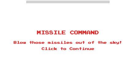 [C]Youtubeで動画に飽きたら「1980」を入力してみ?いきなりミサイルを撃ち落とすゲームが開始されるようです。