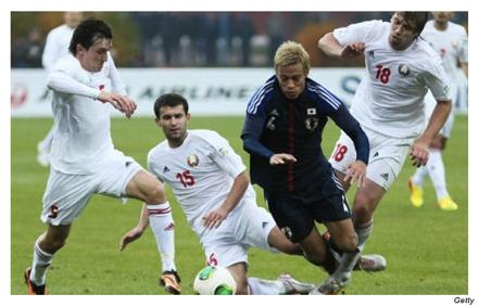 C][サッカー]日本代表ベラルーシ...