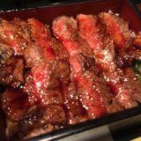本みやけ@大阪・梅田でコスパのいい絶品ステーキ重が食べれる行列店