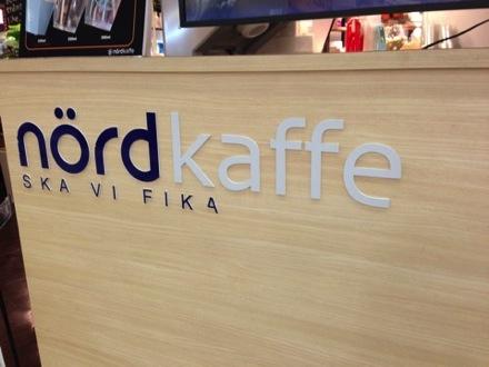 [C]梅田でお気に入りの北欧風カフェ「ノードカフェ」。美味しいフードと高速無線LANが売りのお洒落カフェだよ♪