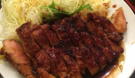 豚々亭@梅田 甘辛&肉厚でおすすめのトンテキ定食