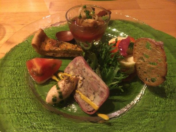 ポトリエ(pote-rie)の前菜
