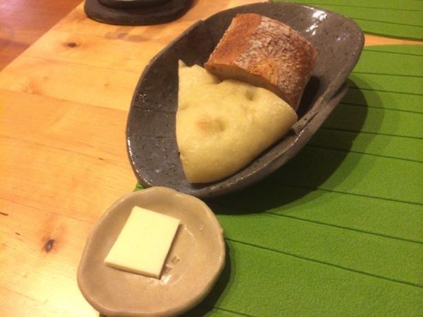 ポトリエ(pote-rie)の自家製パン