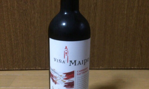 [C]ワインレビュー:ビニャ マイポ ミ プエブロ カベルネ ソーヴィニヨン 赤(チリ産ワイン)