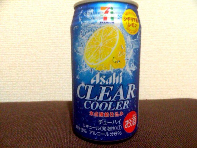 [C]セブンイレブン限定チューハイのクリアクーラーシチリア産レモンを買ってみた