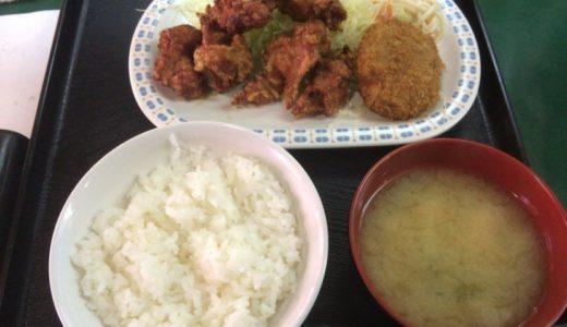 [C]心斎橋にある揚げ物系定食屋とん平 丼池店 どの定食にも付くコロッケが美味!