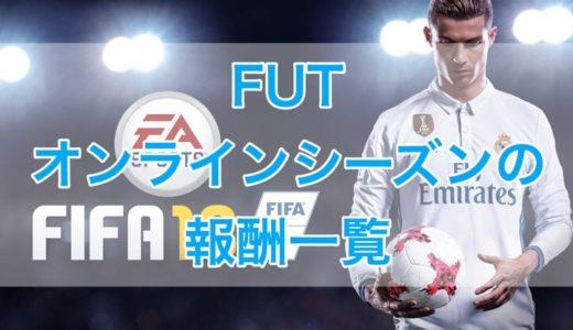 [C]FIFA18 FUTオンラインシーズンの報酬一覧