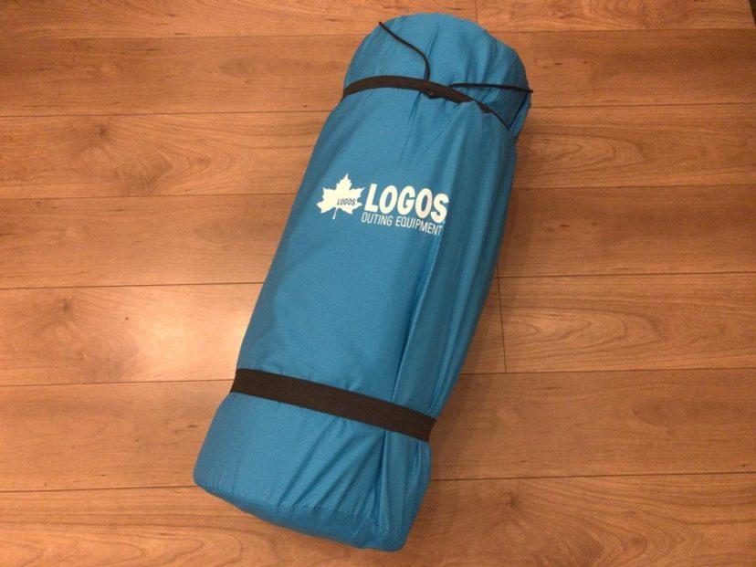 LOGOS ロゴス セルフインフレートマット DUOの収納サイズと重量
