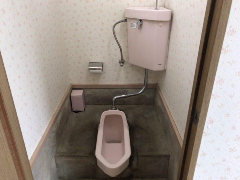 自然の森ファミリーオートキャンプ場の女子和式トイレ