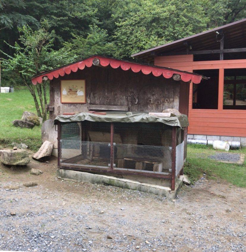 自然の森ファミリーオートキャンプ場のうさぎ小屋