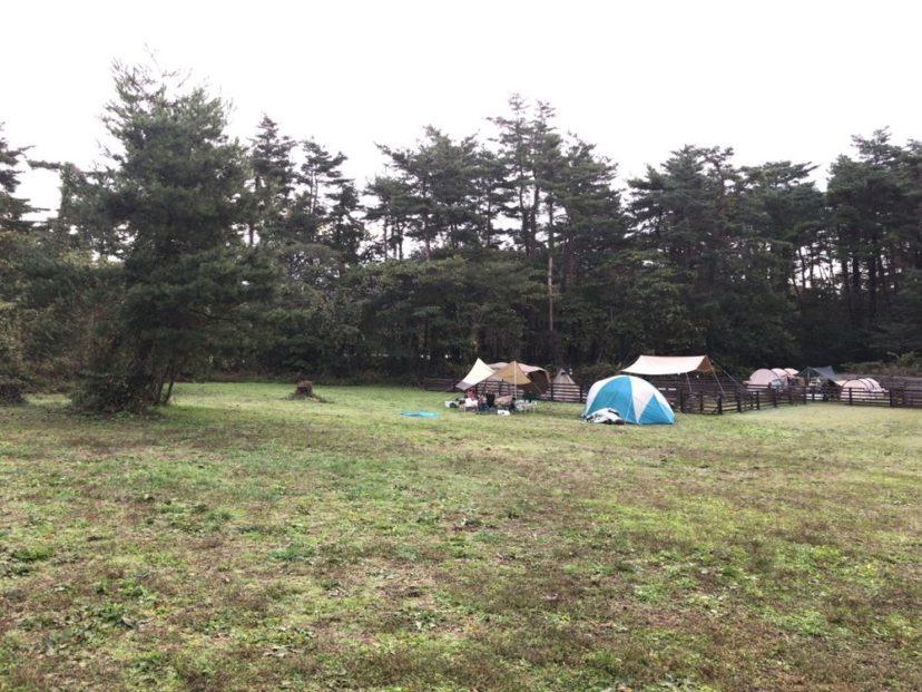 神鍋高原キャンプ場の雰囲気