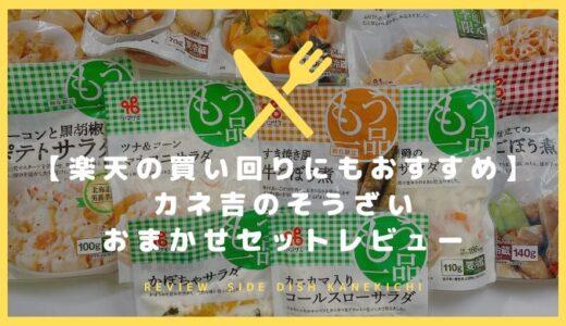 【楽天の買い回りにもおすすめ】カネ吉の惣菜おまかせセットレビュー