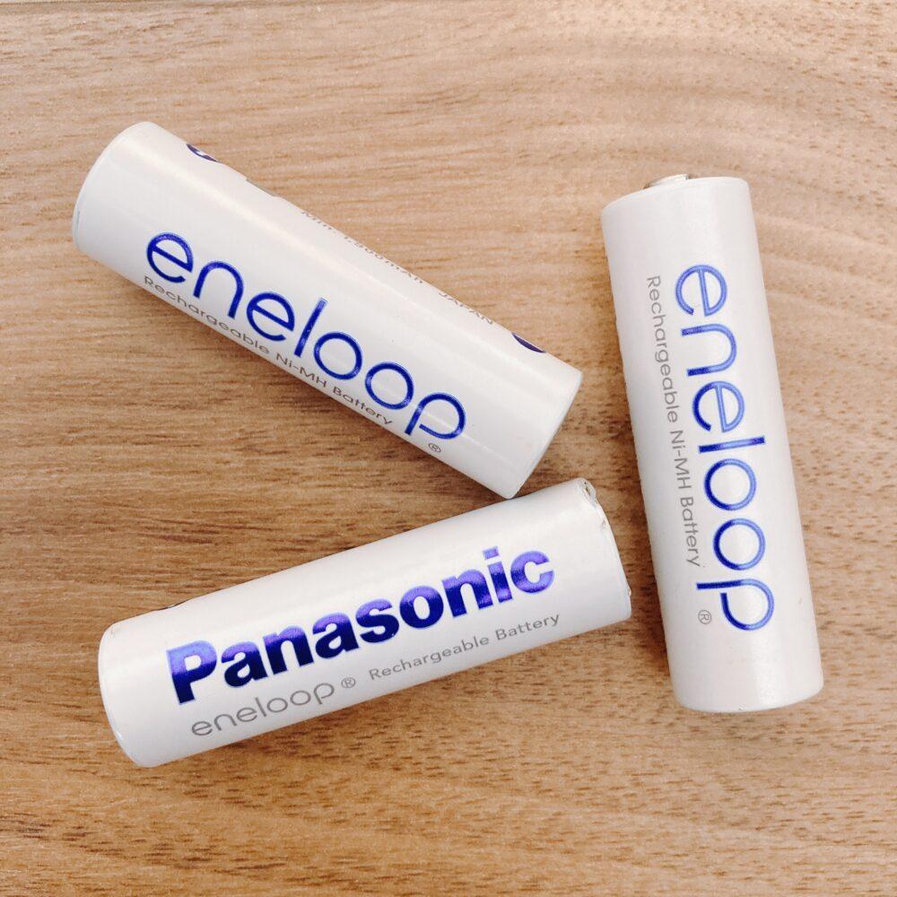 エネループ・エボルタの単3乾電池
